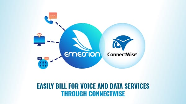 Easily bill for voice and data services through ConnectWise