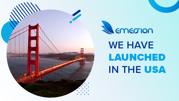 Emersion has launched in the US
